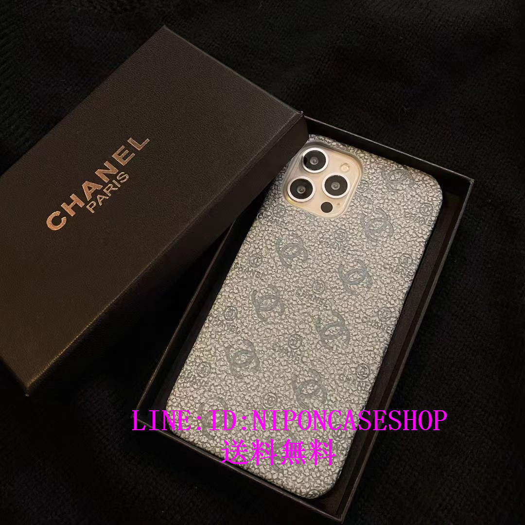 chanel iphone8 plus ケース チェーン