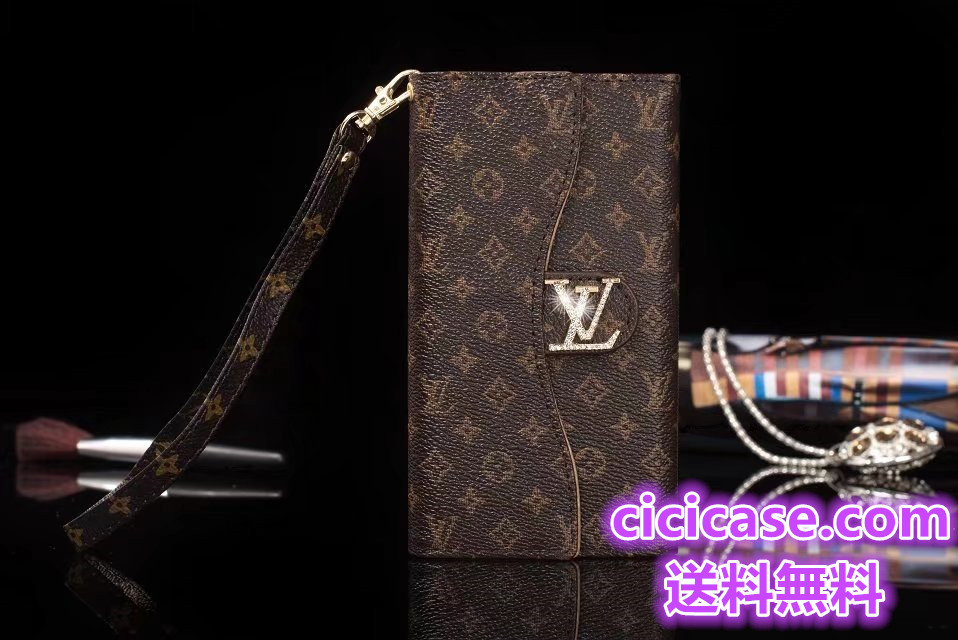 Louis Vuitton iPhone8/8 plus 手帳型スマホケース