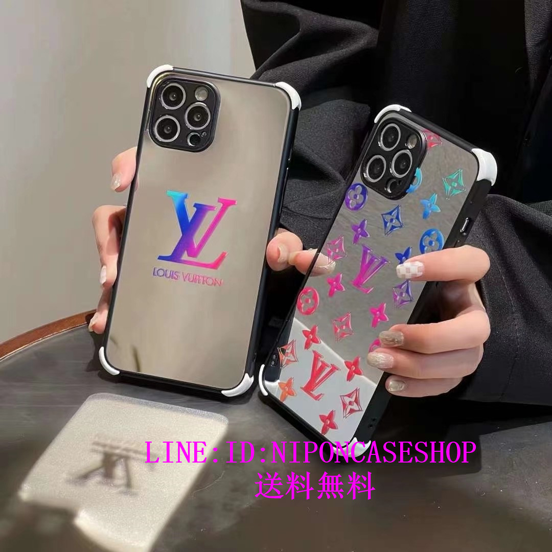 薄型 LVxSupreme iPhone8 plus バンパー ケー