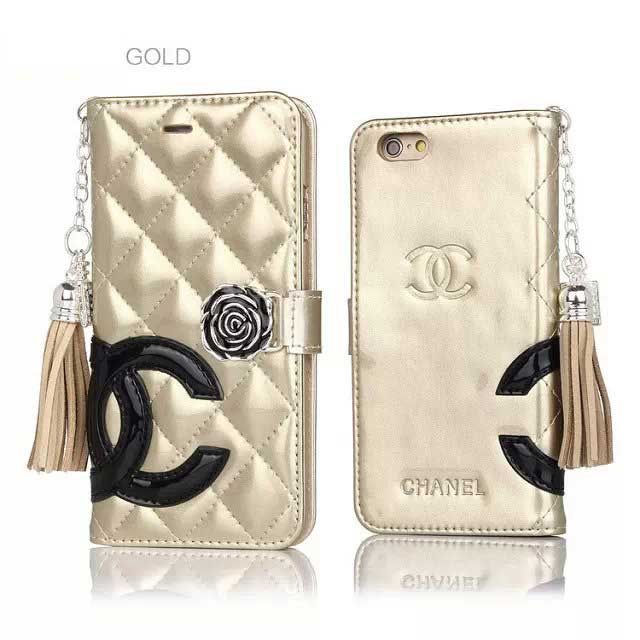 CHANEL iphone6 plusカバー 横開き
